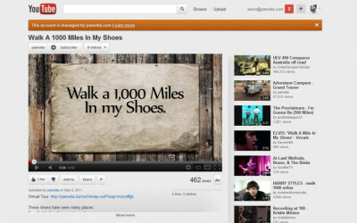 Walk 1000 Miles In My Shoes