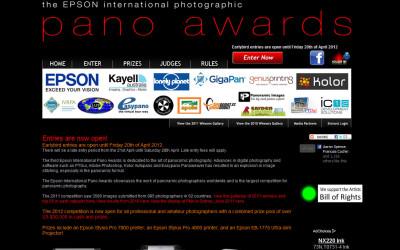 Epson Pano Awards – 2013