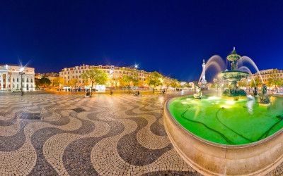 Lisbon – Rossio Square